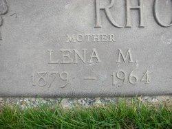 Lena Mary <I>Bowers</I> Rhoades
