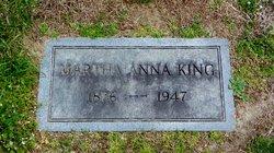 Martha Anna <I>Stewart</I> King