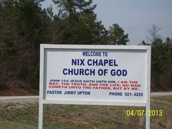 Nix Chapel Cemetery