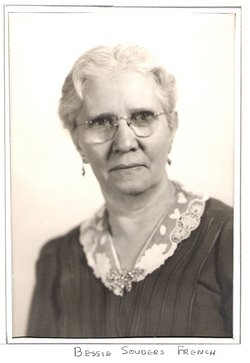 Bessie May <I>Souders</I> French