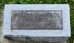 Martha Elizabeth Nauerth