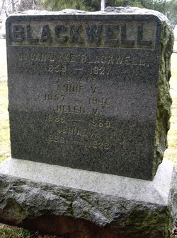Annie VanCleve <I>Atchley</I> Blackwell