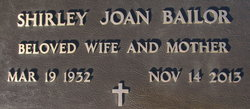 Shirley Joan <I>Ostrander</I> Bailor