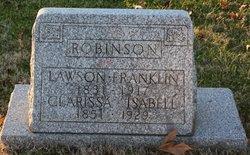 Clarissa Isabell <I>Spence</I> Robinson