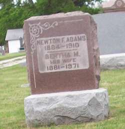 Newton F Adams