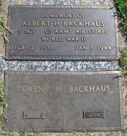 Albert H. Backhaus