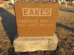 Mary Jane <I>Bates</I> Eakes