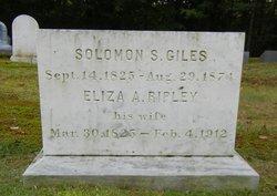 Eliza A <I>Ripley</I> Giles