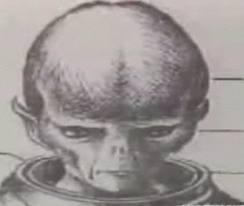 "Extraterrestrial Airship Pilot ""Little Traveler"" Alien"