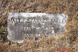 Mattie Mae <I>Starnes</I> Salley
