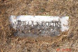 Willa Belle <I>Starnes</I> Boltin