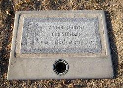 Martha Vivian <I>Davis</I> Christensen