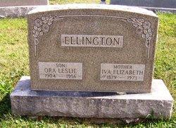 Ora Leslie Ellington
