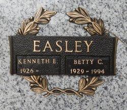 "Elizabeth Cary ""Betty"" <I>Chapman</I> Easley"