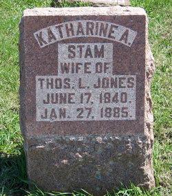 Katharine A. <I>Stam</I> Jones