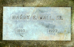 Harry Elmer Ball, Sr