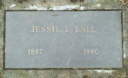 Jessie L <I>Sackett</I> Ball