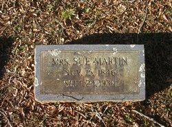 Susan <I>Maxey</I> Martin