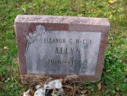 Eleanor G <I>McCue</I> Allyn