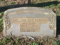 """William Absalom """"Abb"""" Perkins"""