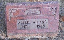Albert Lang
