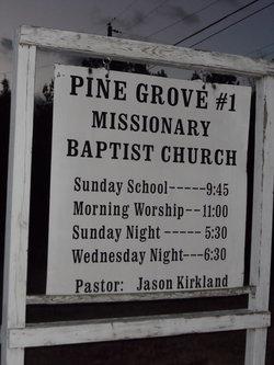 Pine Grove #1 Missionary Baptist Church Cemetery