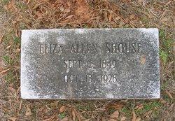 Eliza J <I>Allen</I> Shouse