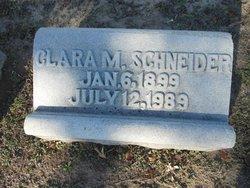 Clara M Schneider