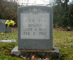 Julia Ann <I>Dollarhide</I> Adkins