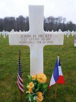 2Lt John H Hickey