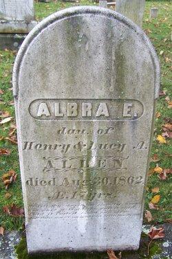 Albra E. Allen