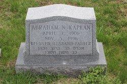 Dr Abraham N Kaplan
