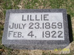 "Amelia Esther ""Lillie"" <I>Marsh</I> Taylor"