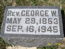 Rev George Wesley Taylor