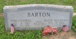 Hazel Josephine <I>Henthorn</I> Barton