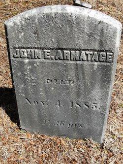 John E Armatage