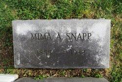 """Jemima Ann """"Mima"""" <I>Payne</I> Snapp"""