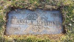 Anna Maria <I>Sabel</I> Schulten