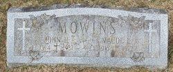 Maude E. <I>Marvin</I> Mowins