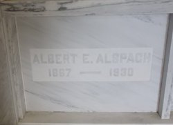 Albert E Alspach