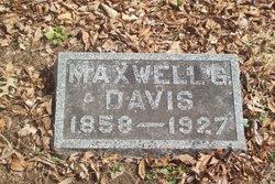 Maxwell Gaddis Davis