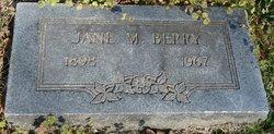 Jane M Berry