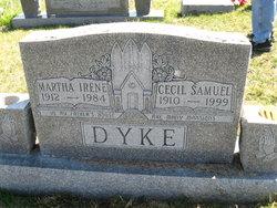Martha Irene <I>Whitacre</I> Dyke