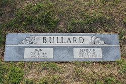 Bertha Myrtle <I>King</I> Bullard