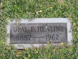 Opal E <I>Malcomb</I> Henline