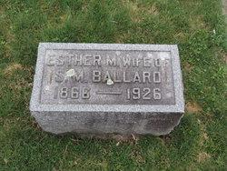 Esther M. <I>McCray</I> Ballard