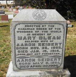 Mary <I>Bleam</I> Seibert