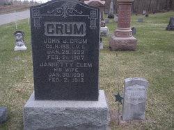 Jennette <I>Clem</I> Crum