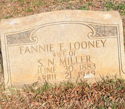 Fannie E <I>Looney</I> Miller