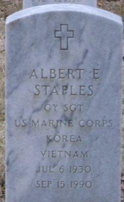Albert E Staples